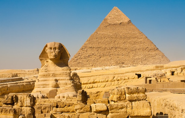 Sphynx Khafre Giza Pyramids Classic